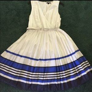 J Crew Pleated Dress